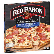 Red Baron Classic Crust Sausage and Pepperoni Pizza