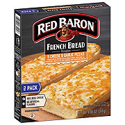 Red Baron Singles French Bread 5 Cheese and Garlic Pizzas