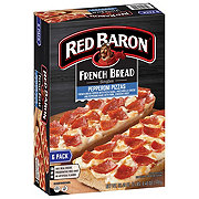 Red Baron Singles French Bread Pepperoni Pizzas Value Pack