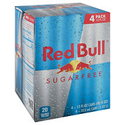 Red Bull Sugar Free Energy Drink 12 oz Cans