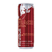 Red Bull The Peach Edition Peach-Nectarine Energy Drink