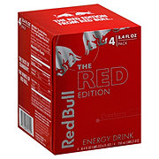 Red Bull The Red Edition Energy Drink 8.4 oz Cans