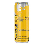 Red Bull The Yellow Edition Tropical Energy Drink