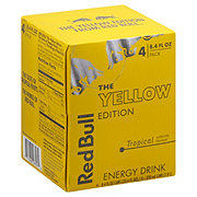 Red Bull The Yellow Edition Tropical Energy Drink 8.4 oz Cans