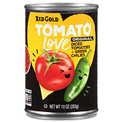 Red Gold Original Diced Tomatoes & Green Chilies