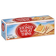 Red Oval Farms Stoned Wheat Thins Crackers
