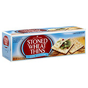 Red Oval Farms Stoned Wheat Thins Lower Sodium Crackers