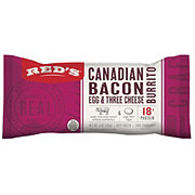 Red's Canadian Bacon Egg & Cheese Burrito