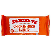 Red's Milk Free Chicken And Rice Burrito