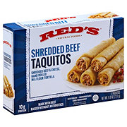 Red's Natural Foods Shredded Beef Taquitos