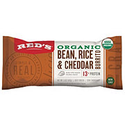 Red's Organic Dairy Free Bean And Rice Burrito