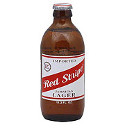 Red Stripe Jamaican Lager Beer Bottle