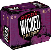 Redd's Wicked Black Cherry Cans 12 pk
