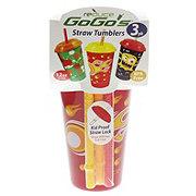 Reduce Gogo's Boy 12 oz StrawTumblers