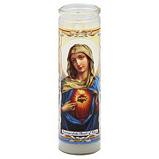 Reed Candle Immaculate Heart Of Mary Candle