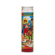 Reed Candle San Martin Caballero Red Wax Candle