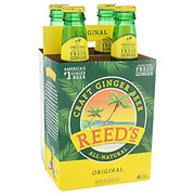 Reed's Jamaican Style Ginger Ale Bottles 4 Pack