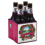 Reed's Raspberry Ginger Ale Bottles 4 Pack