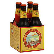 Reed's Sparkling Spiced Apple Cider Bottles 4 Pack