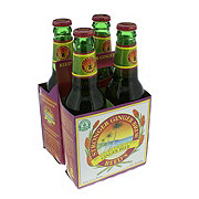 Reed's Stronger Ginger Brew Ginger Beer 12 oz Bottles