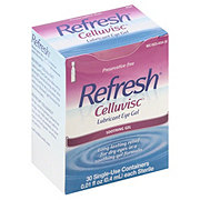 Refresh Celluvisc Lubricant Eye Soothing Gel, Single-Use Containers