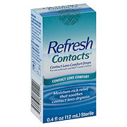Refresh Contacts, Contact Lens Comfort Drops