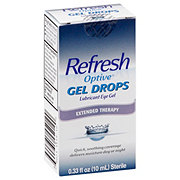 Refresh Optive Gel Drops Lubricant Eye Drops