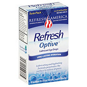 Refresh Optive Lubricant Eye Drops Twin Pack