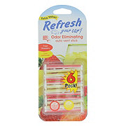 Refresh Your Car Fresh Strawberry/Cool Lemonade Dual Vent Sticks