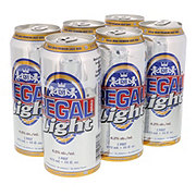 Regal Brau Light Beer, 6 Pack