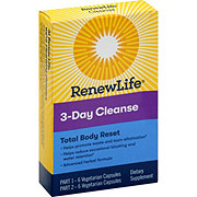 Renew Life 3 Day Cleanse Total Body Reset