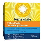 Renew Life Total Body Rapid Cleanse Kit