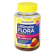 Renew Life Ultimate Flora Probiotic Gummies 3 Billion