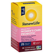 Renew Life Ultimate Flora Women's Daily Probiotic 25 Billion Delayed Release Vegetarian Capsules