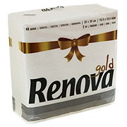 Renova Gold Line Napkins Assorted Colors