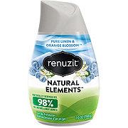 Renuzit Natural Elements Pure Linen & Orange Blossom Gel Air Freshener