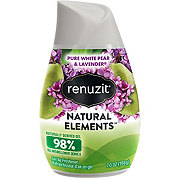 Renuzit Natural Elements White Pear and Lavender Gel Air Freshener