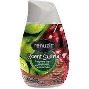 Renuzit Scent Swirls Green Apple Cherry & Sandalwood Gel Air Freshener