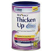 Resource Thicken Up Clear Instant Food & Drink Thickening Powder
