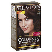 Revlon ColorSilk 37 Dark Golden Brown Permanent Color