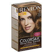 Revlon ColorSilk Beautiful Color 57 Lightest Golden Brown Hair Color