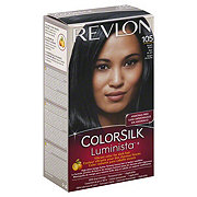 Revlon ColorSilk Luminista 105 Bright Black Permanent Color