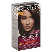 Revlon ColorSilk Luminista 114 Dark Golden Brown Permanent Color