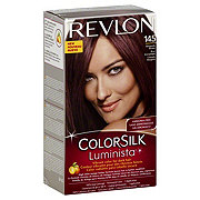 Revlon ColorSilk Luminista 145 Burgundy Brown Permanent Color