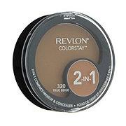 Revlon Colorstay 2-In-1 Compact Makeup & Concealer, True Beige