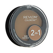 Revlon Colorstay 2-In-1 Compact Makeup & Concealer, True Beige