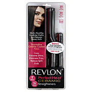 Revlon Perfect Heat 1Inch Plates and 1/2 Inch Plates Ceramic Straighteners