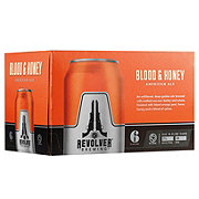Revolver Blood & Honey American Ale  Beer 12 oz  Cans