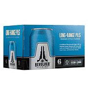 Revolver Long-Range Pils German-Style Pilsner  Beer 12 oz  Cans
