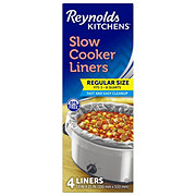 Reynolds Kitchens Regular Size Slow Cooker Liners Shop Storage Bags At H E B